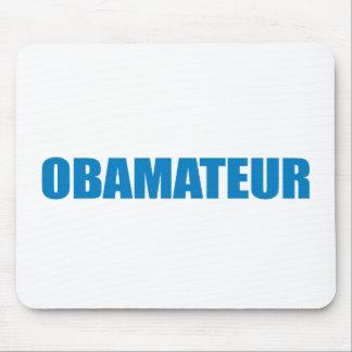Pro-Obama - OBAMATEUR Mousepad