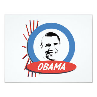 Pro-Obama Retro Gifts Card
