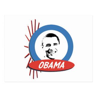 Pro-Obama Retro Gifts Postcard