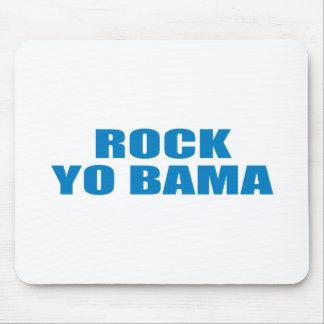 Pro-Obama - ROCK YO BAMA Mouse Pads