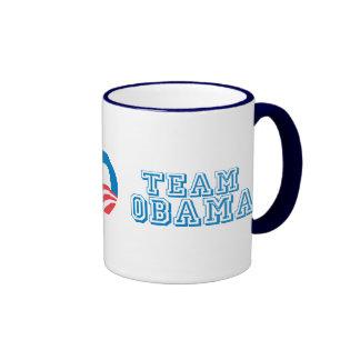Pro-Obama - TEAM OBAMA Coffee Mugs