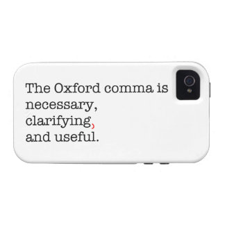 Pro-Oxford Comma Case-Mate iPhone 4 Cases