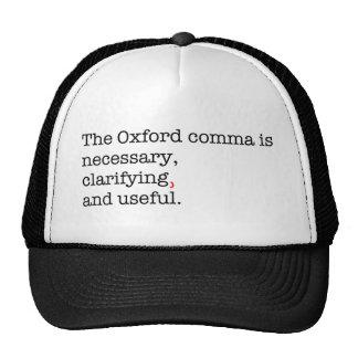 Pro-Oxford Comma Trucker Hat