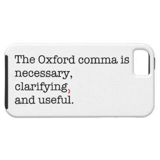 Pro-Oxford Comma iPhone SE/5/5s Case