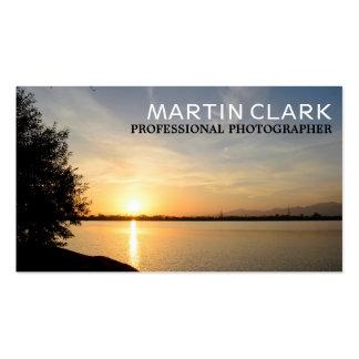 Pro photographer sunset business card