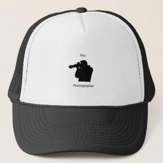 pro photographer trucker hat