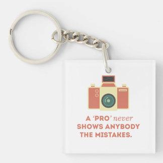 'Pro' Photographs Keychain