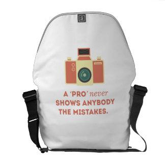 'Pro' Photographs Messenger Bag