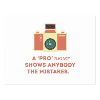 'Pro' Photographs Postcard