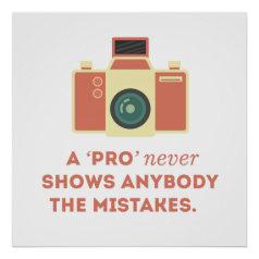 'Pro' Photographs Print
