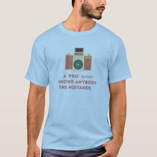 'Pro' Photographs T-Shirt