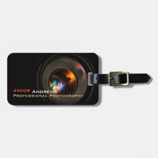 Pro Photography (Camera Lens) Luggage Tag
