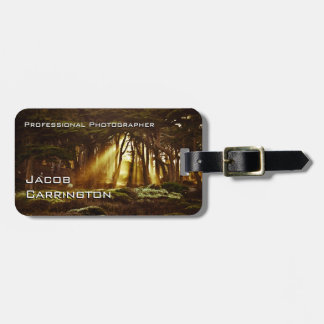 Pro Photography (Forest 3) Bag Tag