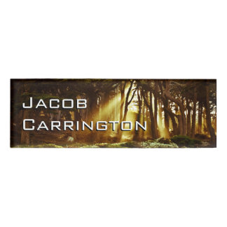 Pro Photography (Forest 3) Name Tag