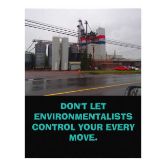 Pro-Pollution Flyers Set of 25