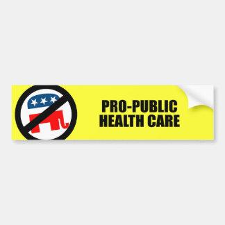 Pro-Public Health Care Bumper Sticker