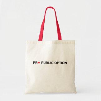 Pro Public Option Bag