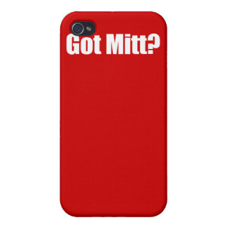 PRO-ROMNEY - GOT MITT -- .png iPhone 4/4S Case