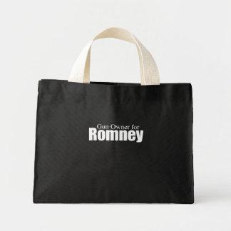 PRO-ROMNEY - GUN OWNER FOR ROMNEY -- .png Tote Bags