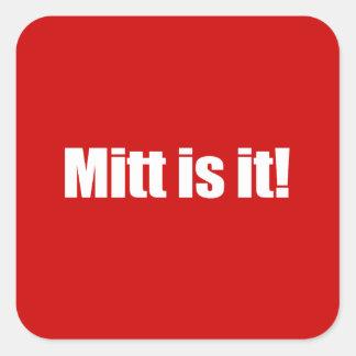 PRO-ROMNEY - MITT IS IT -- .png Sticker