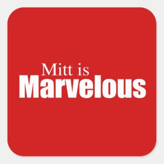 PRO-ROMNEY - MITT IS MARVELOUS -- .png Sticker