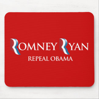 PRO-ROMNEY - REPEAL OBAMA -- .png Mousepad