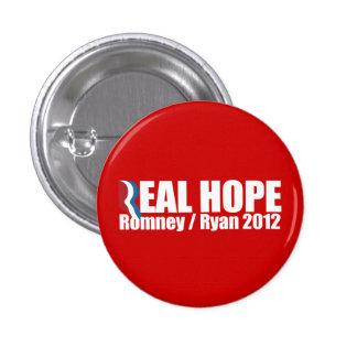 PRO-ROMNEY - ROMNEY RYAN SON ESPERANZA REAL -- .pn Pins