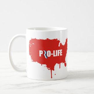PRO-ROMNEY - ROMNEY STANDS FOR PRO-LIFE -- png Mug