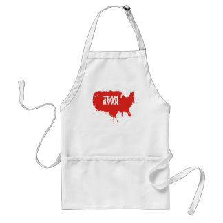 PRO-ROMNEY - TEAM RYAN -- .png Adult Apron