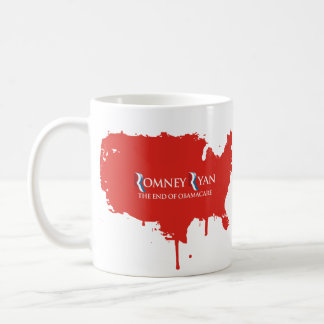 PRO-ROMNEY - THE END OF OBAMACARE -- .png Classic White Coffee Mug