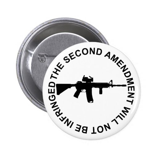 Pro Second Amendment Freedom Merchandise Pins
