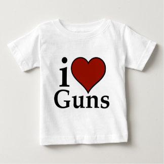 Pro Second Amendment: I Heart Guns Shirts
