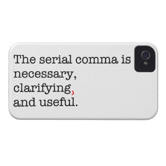 Pro-Serial Comma Case-Mate iPhone 4 Case