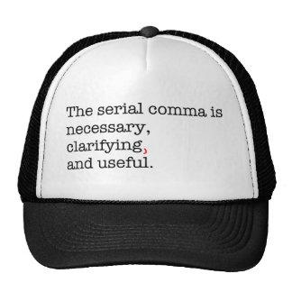 Pro-Serial Comma Trucker Hat