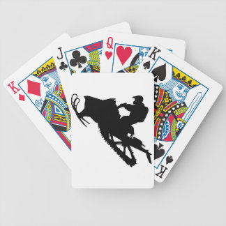 PRO Sled Bicycle Playing Cards