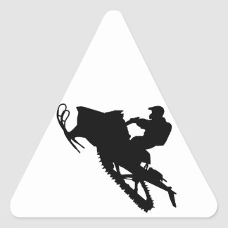 PRO Sled Triangle Sticker