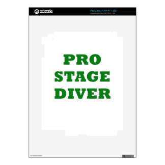 Pro Stage Diver Decals For The iPad 2