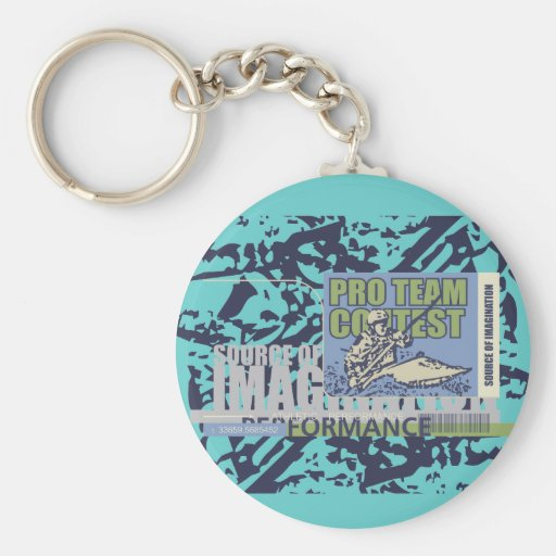 Pro Team Kayaking T-shirts and Gifts Key Chains