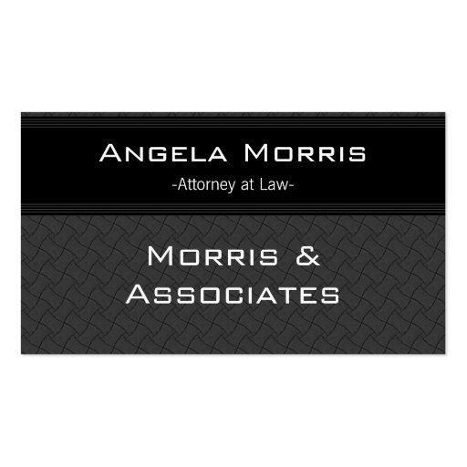 Pro Textures Business Card, Black and Slate Gray