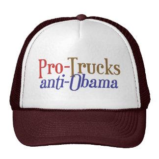 Pro-Trucks Anti-Obama - Scott Brown Senate 2014 NH Trucker Hat