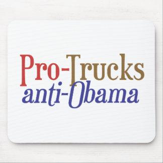Pro-Trucks Anti-Obama - Scott Brown Senate 2014 NH Mousepads