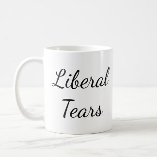 Pro-Trump Tears Funny Conservative Political Mug