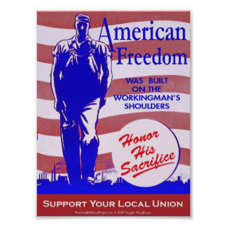 Pro-Union American Freedom Poster