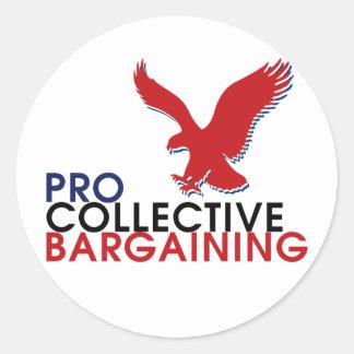 Pro Union Collection Classic Round Sticker
