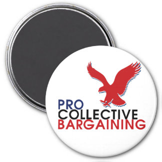 Pro Union Collection 3 Inch Round Magnet