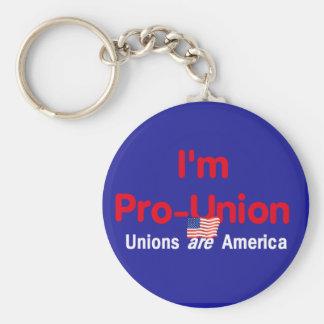 Pro Union Keychain