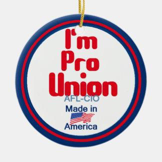 Pro Union Ornament