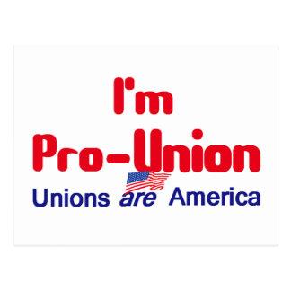 Pro Union Postcard
