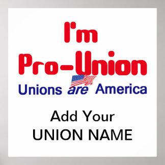 Pro Union POSTER Print