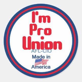 Pro Union Sticker